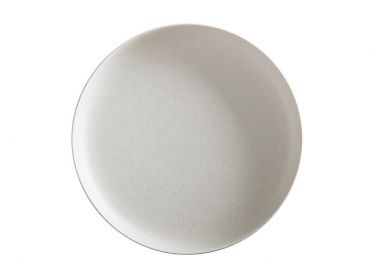 Caviar High Rim Platter 33cm White