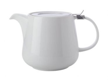White Basics Teapot with Infuser 600ML