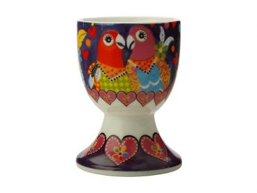 Love Hearts Egg Cup Love Birds