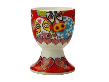 Love Hearts Egg Cup Happy Moo Day