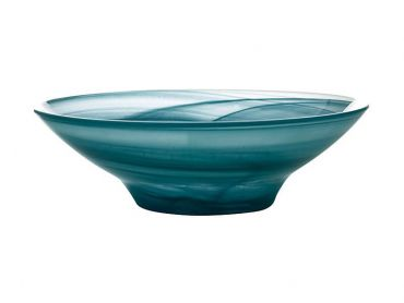 Marblesque Bowl 19cm Teal