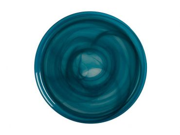 Marblesque Plate 26cm Teal