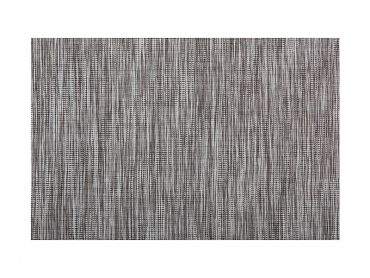 Placemat Lurex 45x30cm Grey Stripe