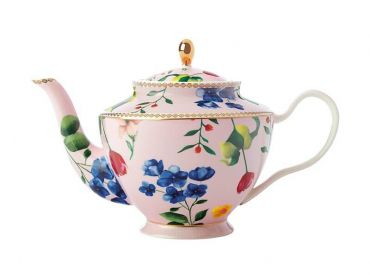 Teas & C's Contessa Teapot with Infuser 1L Rose