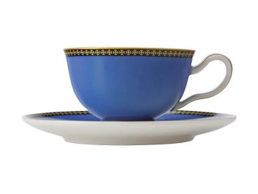 Teas & C's Contessa Classic Footed Cup & Saucer 200ML Blue