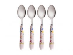 Teas & C's Contessa Teaspoon Set of 4 Rose